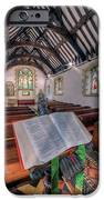 St Tysilios Bible IPhone Case by Adrian Evans