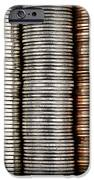 Stacked Coins IPhone Case by Elena Elisseeva