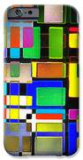 Stained Glass Window II Multi-coloured Abstract IPhone Case by Natalie Kinnear