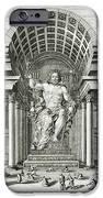 Statue Of Olympian Zeus IPhone Case by Johann Bernhard Fischer von Erlach