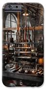 Steampunk - Room - Steampunk Studio IPhone Case by Mike Savad
