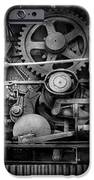 Steampunk - Serious Steel IPhone Case by Mike Savad