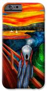 Steampunk - The Scream IPhone Case by Mike Savad