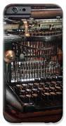 Steampunk - Typewriter - A Really Old Typewriter  IPhone Case by Mike Savad