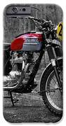 Steve Mcqueen Isdt 1964 IPhone Case by Mark Rogan