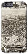 Stockton San Joaquin County California  1895 IPhone Case by California Views Mr Pat Hathaway Archives