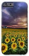Stormy Sunrise IPhone Case by Debra and Dave Vanderlaan