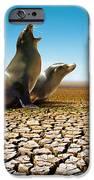 Suffering Seals IPhone Case by Carlos Caetano