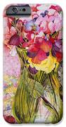 Sweet Peas With Cherries And Strawberries IPhone Case by Joan Thewsey