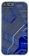 Technology Abstract IPhone Case by Michal Boubin
