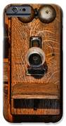 Telephone - Antique Wall Telephone IPhone Case by Lee Dos Santos