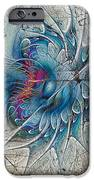 The Blue Mirage IPhone Case by Deborah Benoit