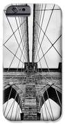 The Brooklyn Bridge IPhone Case by John Farnan