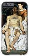 The Dead Christ And Angels IPhone Case by Edouard Manet