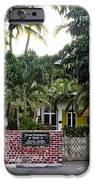 The Ernest Hemingway House - Key West IPhone Case by Bill Cannon