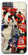 The Faceoff IPhone Case by David Rucker