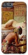 The Favorite Of The Harem IPhone Case by Gyula Tornai