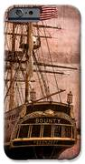 The Gleaming Hull Of The Hms Bounty IPhone Case by Debra and Dave Vanderlaan