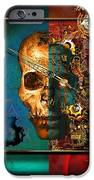 The Inconceivability Of The Being IPhone Case by Franziskus Pfleghart