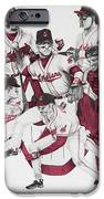 The Indians' Glory Years-late 90's IPhone Case by Joe Lisowski