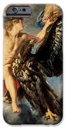 The Kidnapping Of Ganymede IPhone Case by Rubens