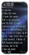 The Memorare IPhone Case by Barbara Griffin