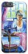 The Seamstress IPhone Case by Trudi Doyle