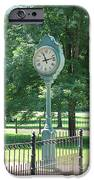The Town's Clock IPhone Case by Brenda Donko