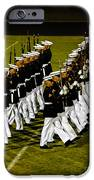 The United States Marine Corps Silent Drill Platoon IPhone Case by Robert Bales