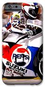 The Unleashing   Kevin Schwantz IPhone Case by Iconic Images Art Gallery David Pucciarelli