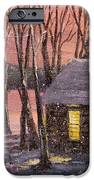 Thoreau's Cabin IPhone Case by Jack Skinner