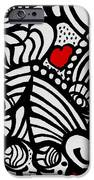 Three Little Hearts  IPhone Case by Carrie Stewart