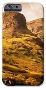 Three Sisters. Glencoe. Scotland IPhone Case by Jenny Rainbow