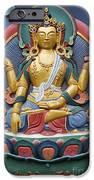 Tibetan Buddhist Deity IPhone Case by Tim Gainey