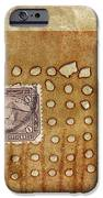 Torn And Burned IPhone Case by Carol Leigh