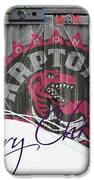 Toronto Raptors IPhone Case by Joe Hamilton