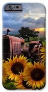Tractor Heaven IPhone Case by Debra and Dave Vanderlaan