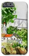 Treasure Island - California Sketchbook Project  IPhone Case by Irina Sztukowski