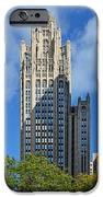 Tribune Tower Chicago - History Is Part Of The Building IPhone Case by Christine Till