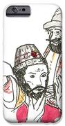 Tsar And Courtiers IPhone Case by Marwan George Khoury