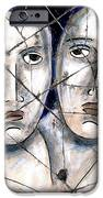 Two Souls - Study No. 1 IPhone Case by Steve Bogdanoff