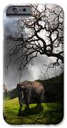 Under The Old Oak Tree - 5d21097 - Horizontal IPhone Case by Wingsdomain Art and Photography