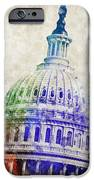 United States Capitol Dome IPhone Case by Aged Pixel
