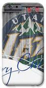 Utah Jazz IPhone Case by Joe Hamilton