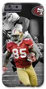 Vernon Davis 49ers IPhone Case by Joe Hamilton