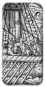 Viking Ship IPhone Case by German School