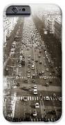 Vintage Champs Elysees IPhone Case by John Rizzuto