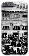 Vintage Comiskey Park - Historical Chicago White Sox Black White Picture IPhone Case by Horsch Gallery