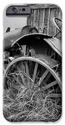 Vintage Farm Tractor IPhone Case by Theresa Tahara