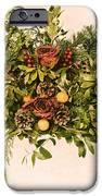 Vintage Floral Arrangement IPhone Case by Olivier Le Queinec
